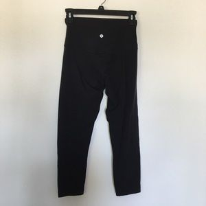 """Cotton align style legging tight high waisted black 23"""" inseam"""
